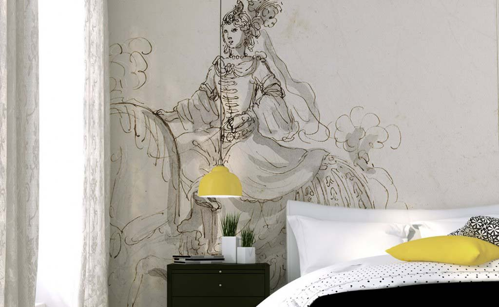 Papiers peints panoramiques sur mesure et d coratifs papiers de paris - Papier peint ontwerp contemporain ...