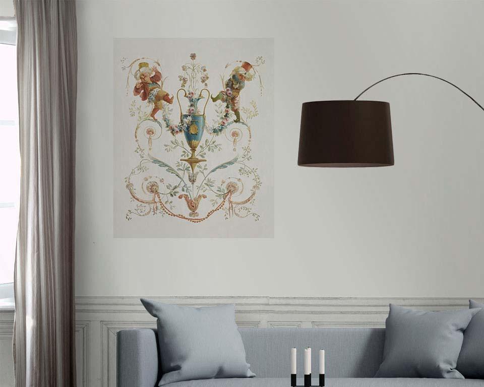 vases et g nies n 1 grotesque 18eme papiers de paris. Black Bedroom Furniture Sets. Home Design Ideas