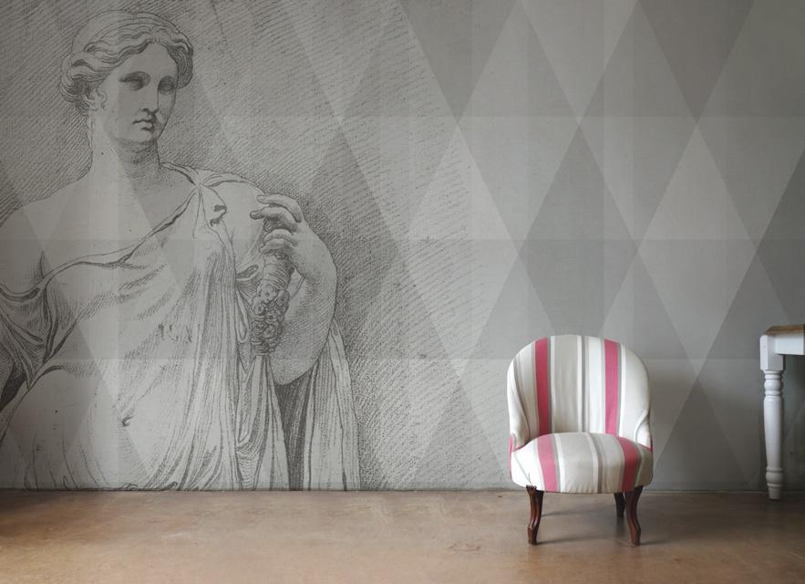 le papier peint design papiers de paris. Black Bedroom Furniture Sets. Home Design Ideas