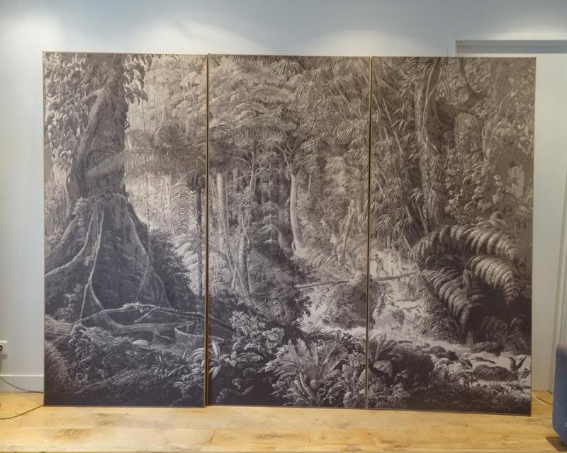 Panneau Décoratif Mural Papier Peint