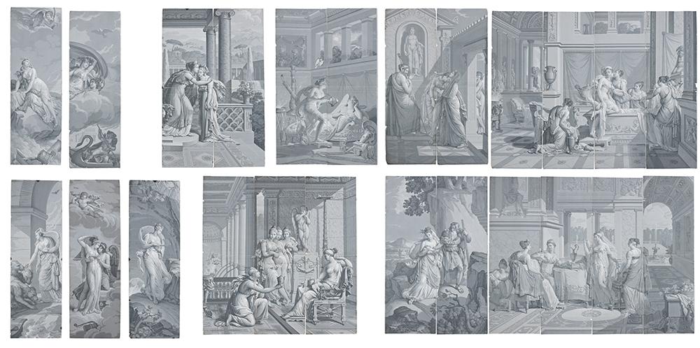 les papiers peints panoramiques du musée des arts décoratifs