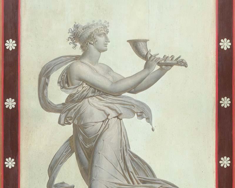 Panneau d coratif ede sytle empire charles percier - Papier peint panneau decoratif ...