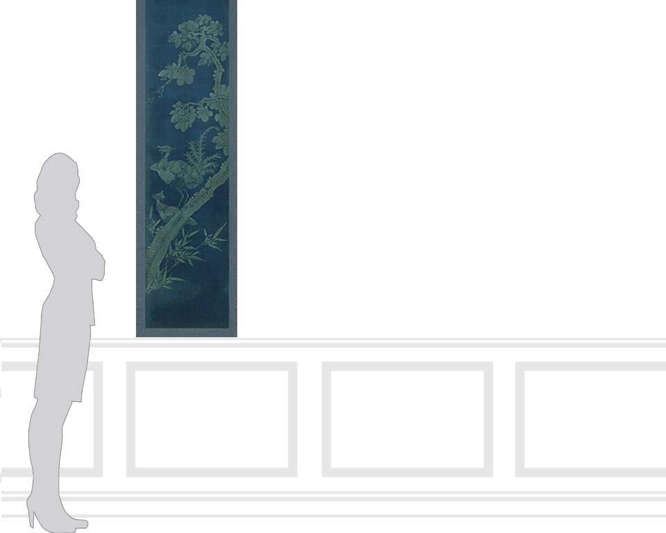 Panneaux d coratifs cor ensn 2 10 19eme si cle papiers - Papier peint panneau decoratif ...