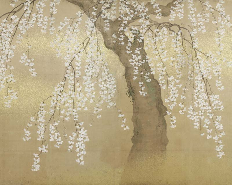 Papier peint japonais decoration home 2016 - Papier peint fleur de cerisier japonais ...