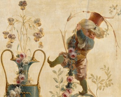 Vases&Genies N°1/6 - Panneau décoratif