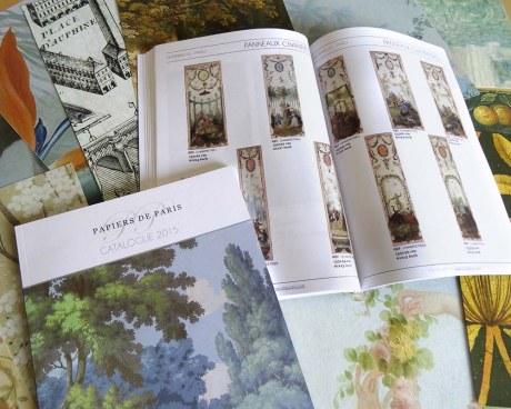 Catalogue papiers peints