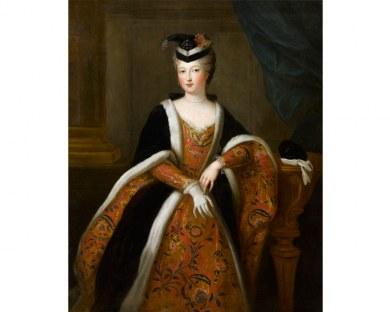 La Duchesse d'Orléans - Papier peint