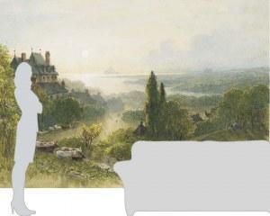 Le Mont Saint-Michel - Papier peint