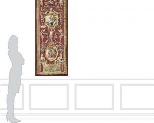 L'Automne et l'Hiver- Panneau décoratif