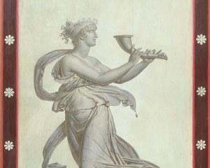 Danseuse Pompeienne N°1/7- Panneau décoratif