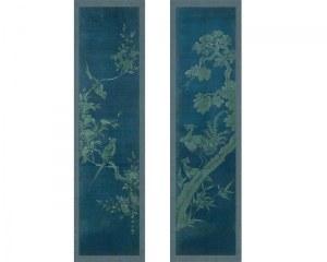 Panneaux Coréen N°1&2 - Fleurs&Oiseaux