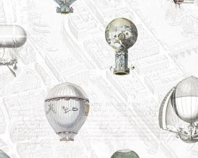 Les Montgolfières de Paris - Papier peint