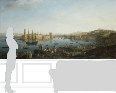 Le Port de Marseille - Papier peint