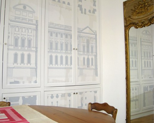 papier peint panoramique sur mesure papiers de paris. Black Bedroom Furniture Sets. Home Design Ideas