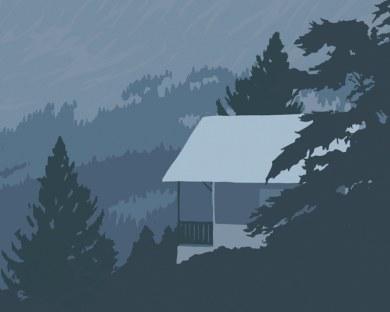 Mont Blanc - Papier peint