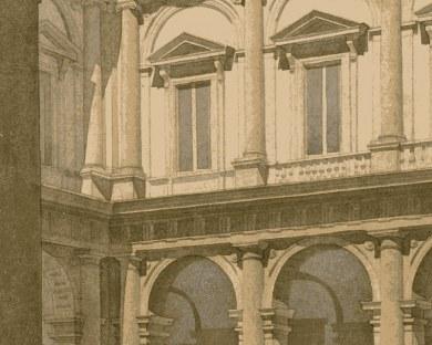 Le Palais Farnese - Papier peint