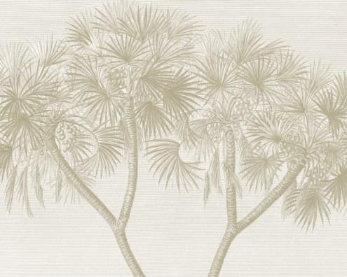 papier peint panoramique palmier doum en egypte papiers de paris. Black Bedroom Furniture Sets. Home Design Ideas