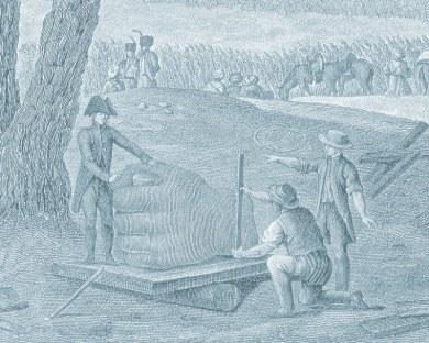 Vue de l'Egypte - Papier peint
