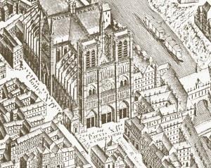 Paris 1739 - Papier peint