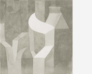 Abstrait - Paul Klee- Papier peint