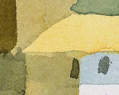 Sicile - Paul Klee - Papier peint
