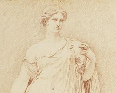 Statue Romaine - Papier peint