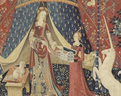La Dame à la Licorne 1/5 - papier peint