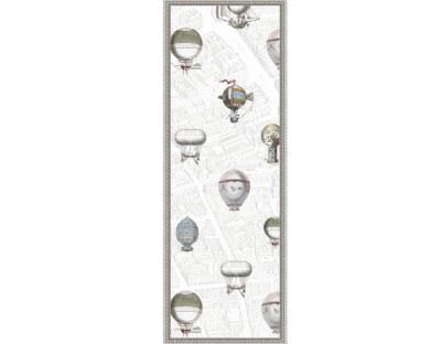 Montgolfières 2/5 - Panneau décoratif