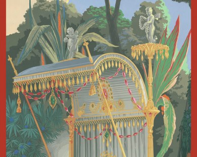 Panneau Desfossé - Complet - Panneau décoratif