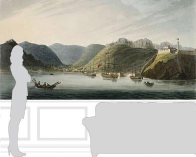L'ile d'Elbe - Papier peint