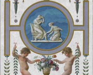 Psyché 3/4 - Panneau décoratif