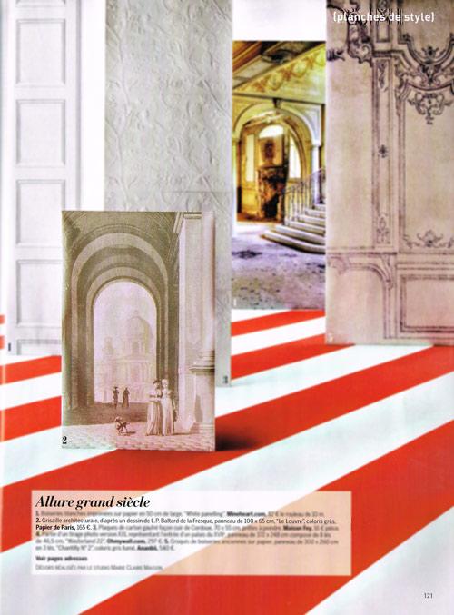 Articles de presse papiers peints panoramiques papiers de paris - La maison de claire paris ...