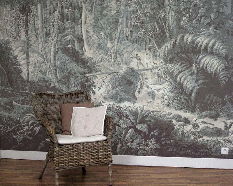Scenic wallpaper brasilian rainforest papiers de paris for Parati moderni leroy merlin