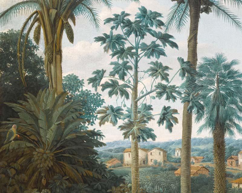 brasilian plantation scenic wallpaper papiers de paris. Black Bedroom Furniture Sets. Home Design Ideas