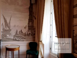 Views of Italy- antique wallpaper