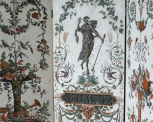 Screen - Antique wallpaper