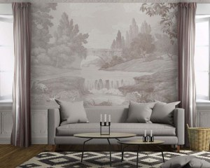 The french countryside - Wallpaper mural