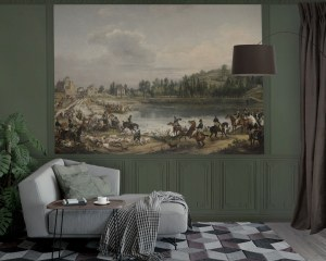 Court hunting - Wallpaper Mural