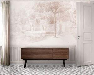 Gardens of Arcueil 1/2 - Wallpaper
