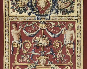 The Fall and Winter- Decorative panel