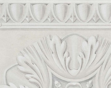 Painted Coffered Ceiling - Wallpaper mural