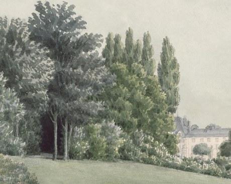 Panoramic landscape  - Wallpaper mural