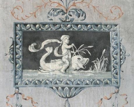 18th panels N°3 - Decorative Panel