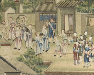 Chinese wallpaper N°2 - Decorative Panel