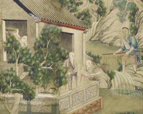 Chinese wallpaper N°3 - Decorative Panel