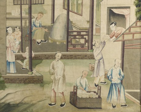 Chinese wallpaper N°6 - Decorative Panel