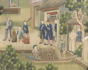 Chinese wallpaper N°7 - Decorative Panel