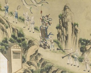 Chinese wallpaper N°8 - Decorative Panel