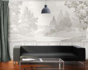 French Landscape - Wallpaper mural