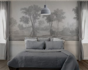 Country landscape - Wallpaper mural